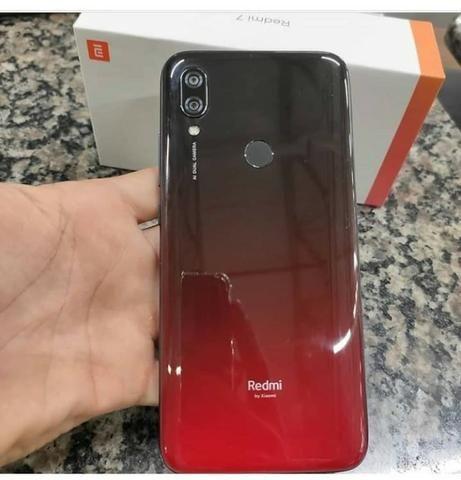 Xiaomi Redmi 7 32gb 3gb Rom Global Lacrado Novo Com Garantia 6 Meses/Azul/Preto/Vermelho - Foto 3