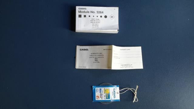 Caixa original do relógio Casio (Novo) - Foto 5