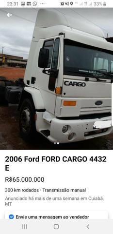 Caminhão cargo 2006/2006 4432 contato diego * - Foto 6