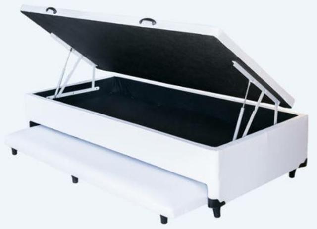 Cama box baú com cama auxiliar em 12x!!!