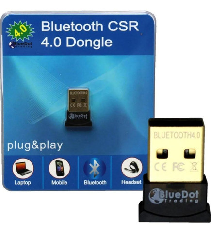 Adaptador Bluetooth Usb 4.0 Pc Note Ps4 Xbox