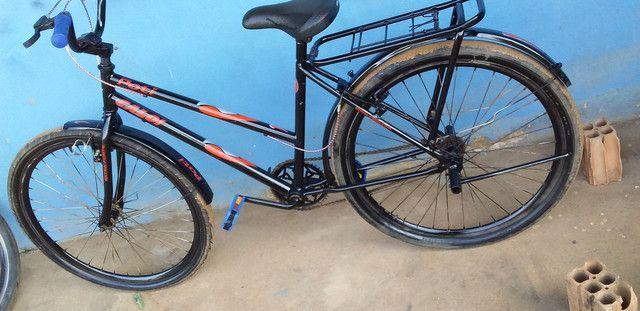 Vendo essa bicicleta ta top  - Foto 4