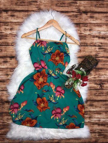 Vestidinho floral