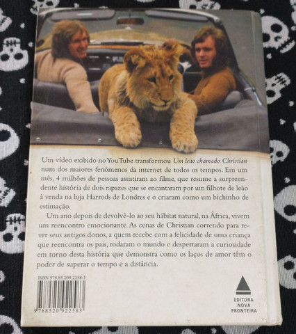 Livro um leão chamado Christian - Foto 2