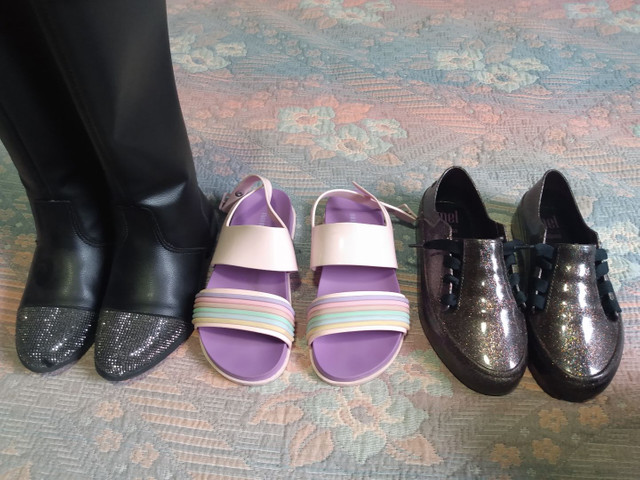 Sapatos botas sandália infantil - Foto 3