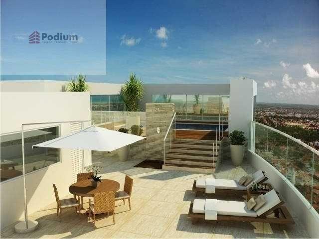 Apartamento à venda com 3 dormitórios em Altiplano cabo branco, João pessoa cod:14325 - Foto 4