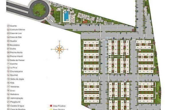 Eco Way Eusébio - 40m² - Apartamento 2 quartos em Eusébio, CE - ID3866 - Foto 8