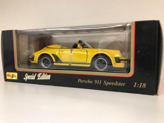 Porsche Speedster Carrera Maisto IMPECÁVEL - Foto 4