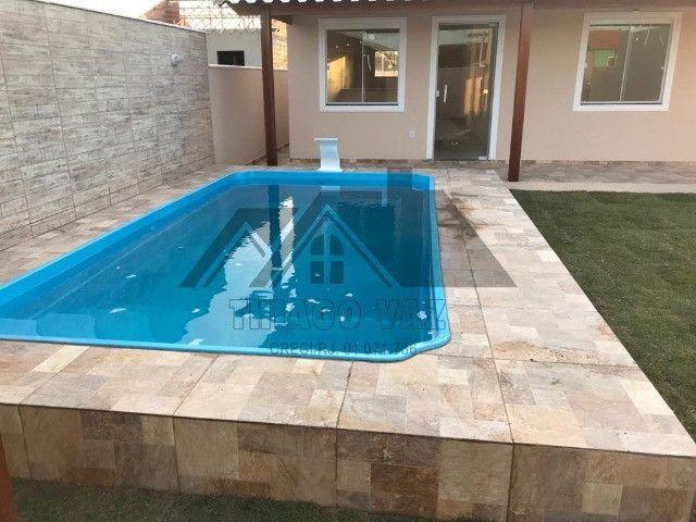 Linda casa com piscina e área gourmet - Foto 9