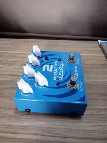 Pedal Guitarra Modulation Delay 2 Fuhrmann True Bypass - Foto 3