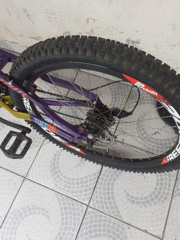 Bike aro26 vinkingx semi nova - Foto 2
