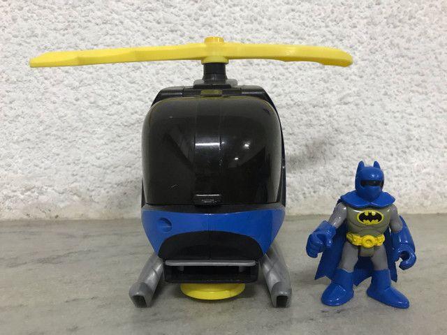 Helicóptero do batman Imaginext DC comics  - Foto 2