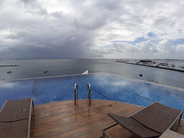 Apartamento Porto Trapiche 1 Quarto 94m2 Nascente Vista Mar Decorado Orla Contorno - Foto 11