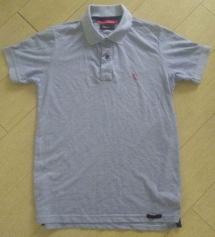 Camisa pólo Reserva G cinza