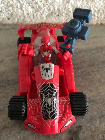 Veículo aranha Marvel homem aranha spiderman  - Foto 2