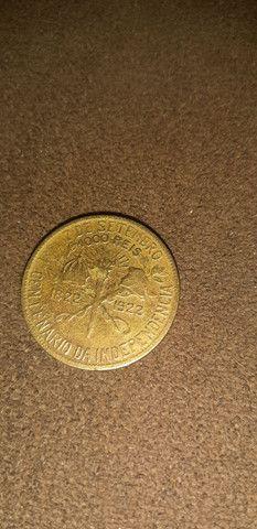 Vende se moedas antigas 100 - Foto 4