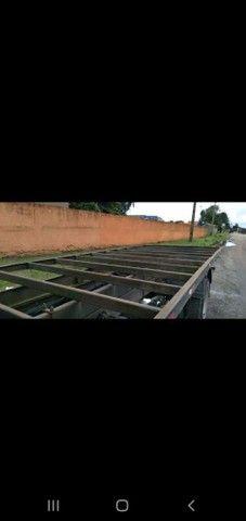 Carroceria de ferro pra truck 4 locks 6,30 comprimento - Foto 2