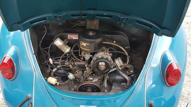 Fusca 1966 azul - Foto 3