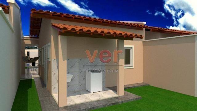 Casa à venda, 85 m² por R$ 160.000,00 - Centro - Itaitinga/CE - Foto 3