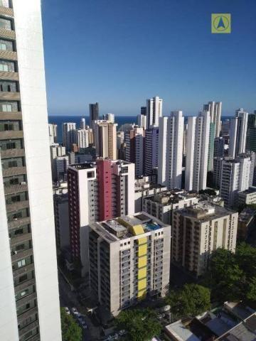 Beach Class - 26° andar - Apartamento mobiliado - Boa viagem - Recife - Foto 12
