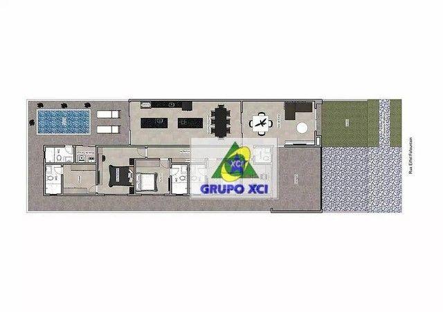 Casa com 3 dormitórios à venda, 192 m² por R$ 970.000,00 - Bonfim - Paulínia/SP - Foto 2