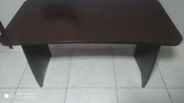 Mesas de escritório 100% MDF pés com regulagem - Foto 2