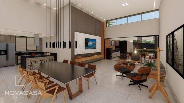 Casa com 4 dormitórios à venda, 318 m² por R$ 1.990.000,00 - Alphaville Lagoa dos Ingleses - Foto 10