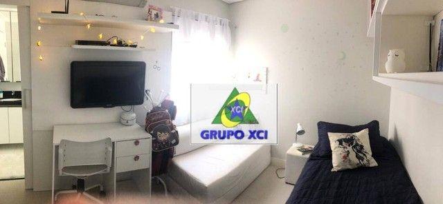 Apartamento com 3 dormitórios à venda, 137 m² por R$ 1.100.000,00 - Alphaville - Campinas/ - Foto 9