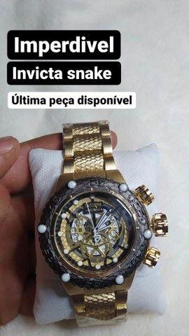Relógio invicta snake