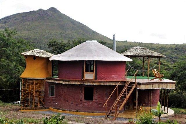 Vale do Capão Casa Artística 15 mil m2 com rio 2 quartos a menos de 1km da vila - Foto 17