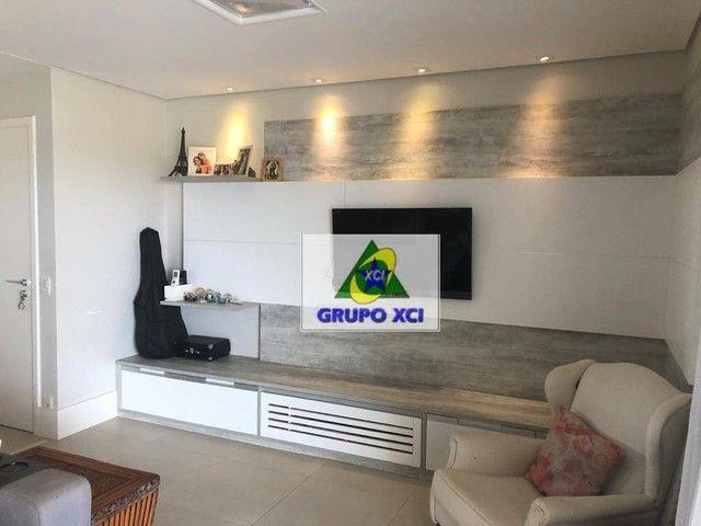 Apartamento com 3 dormitórios à venda, 137 m² por R$ 1.100.000,00 - Alphaville - Campinas/ - Foto 17
