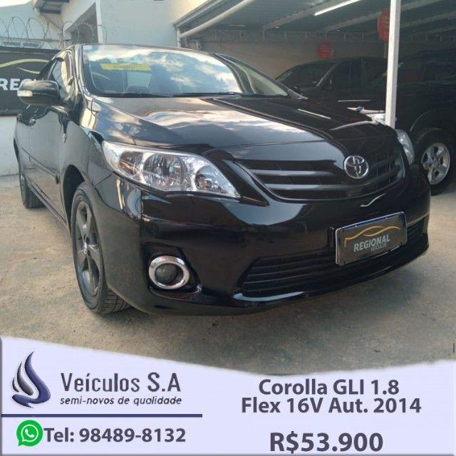 Corolla GLI 1.8 Flex 16V Aut. 2014