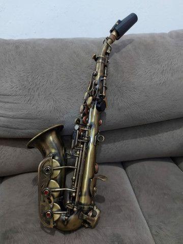 Sax Soprano Curvo Waldmam - Foto 5