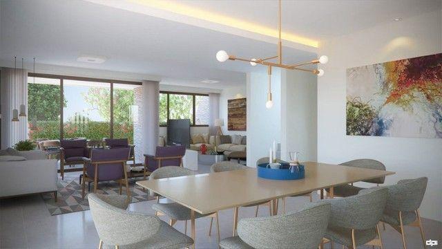 CRS Luxuosa Casa 5 Suítes 3 pavimentos 4 Vagas Condomínio no Poço 258 M² Alto Padrão - Foto 4
