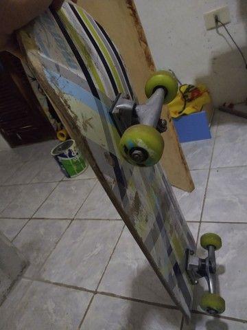 Skate Mormaii, usado porém funcional100% - Foto 2