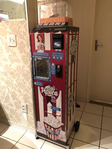 Máquina de Pipoca Vending Machine MAIS PIPOCA