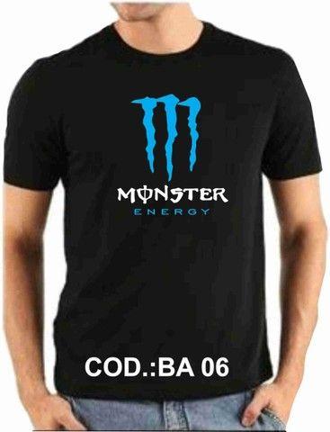 Camiseta Monster - Foto 2