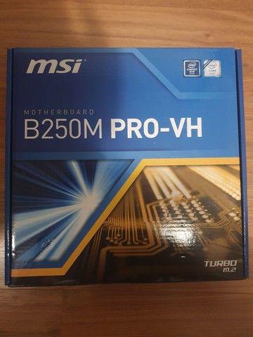 I5 7400 + placa mãe msi - Foto 2