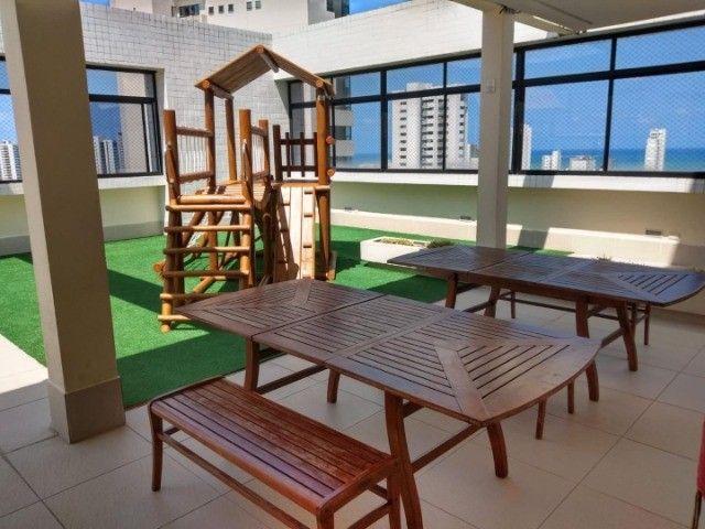 LF* Oportunidade em Boa Viagem,2 quartos,com toda mobilia fixa,ao lado do Santa Maria - Foto 9