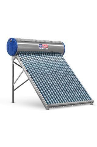 Aquecedor Solar Acoplado a Vácuo 300 Litros - 30 Tubos