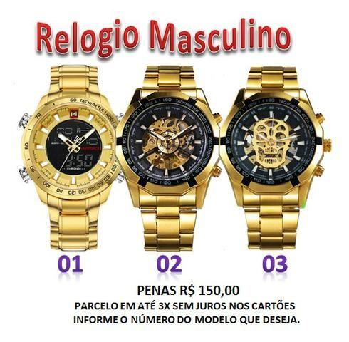 a43769f365e Relógio Masculino Winner e Naviforce - Bijouterias
