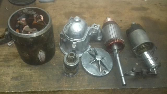 Motor de partida opala