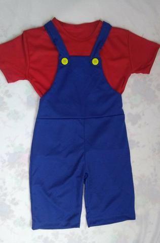 Fantasia Super Mario Bros Infantil - Artigos infantis - Vila Curuçá ... 29744745e95