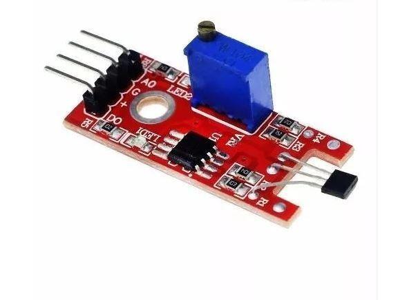 COD-AM90 Sensor Hall Magnético Rpm Esp8266 Arduino Automação Robotica - Foto 2