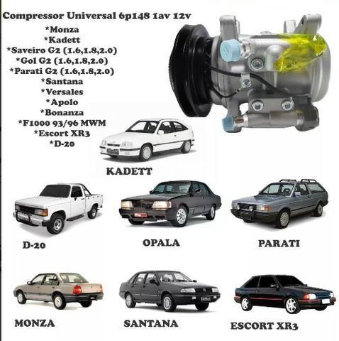 Compressor Ar Condicionado 6p148A - Caravan / Gol AP / Santana / Ipanema / Opala