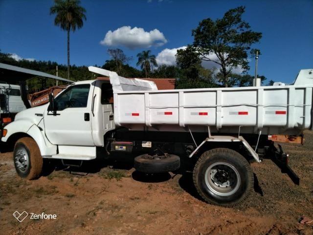 Caminhão f14000 toco caçamba - ano 2001 - Foto 4