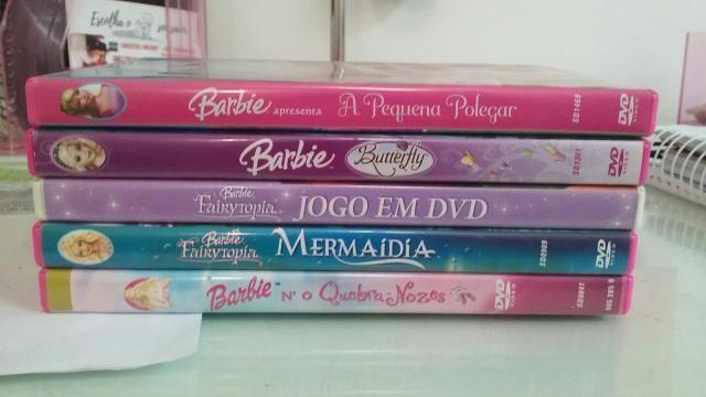 Dvds Barbie ORIGINAIS