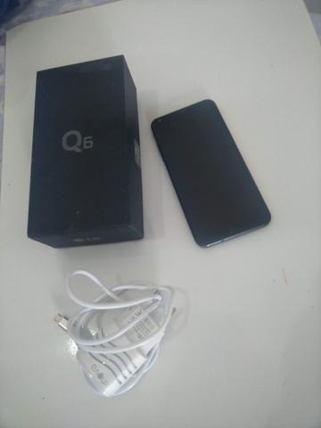 LG Q6 32 GB Preto com reconhecimento facial!!!