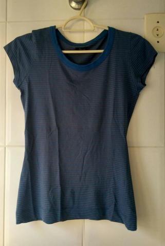 Blusa azul Sommer - tamanho P