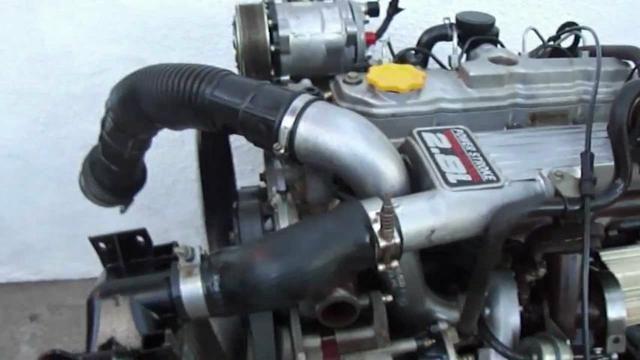 Motor Power Stroke 2.8 Turbo Intercooler F1000 Ranger Van Splinter S10 Blazer Troller - Foto 3